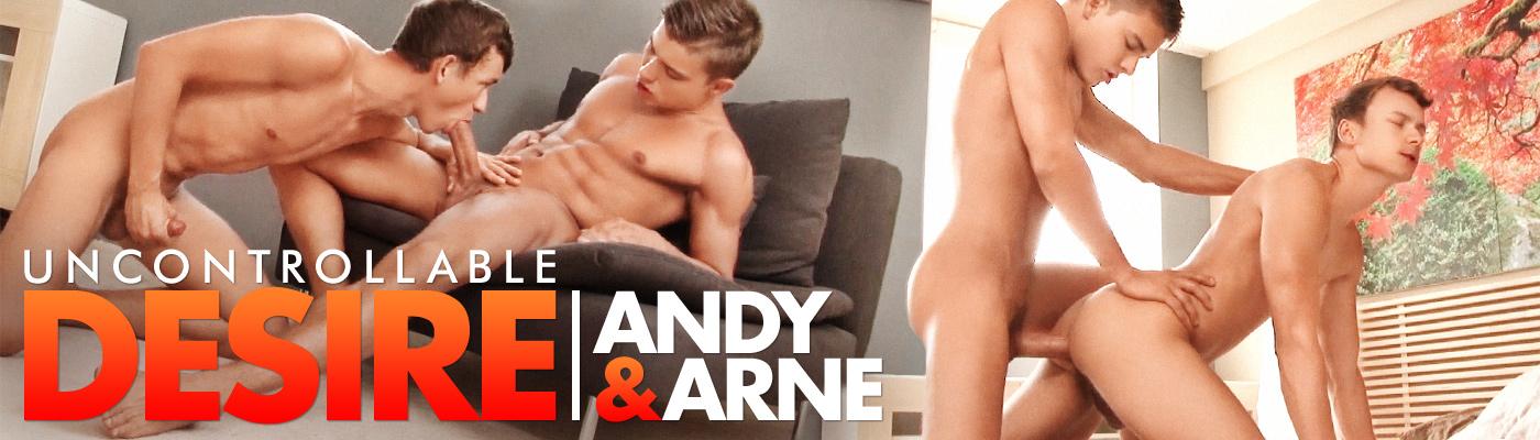 Uncontrollable Desire... Arne Coen fucks Andy McAllister