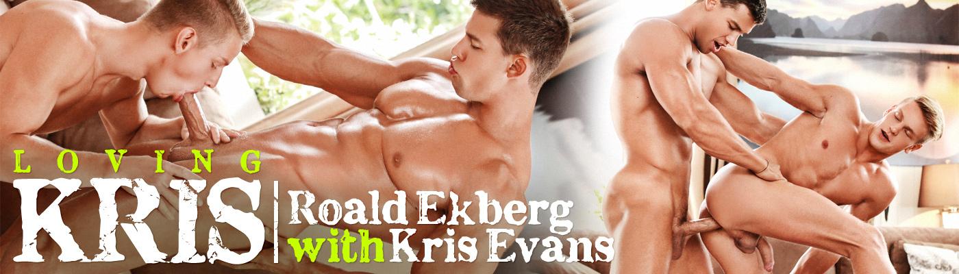 LOVING KRIS… Kris Evans fucks Roald Ekberg